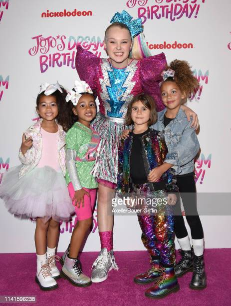 Ryan Romulus North West JoJo Siwa Penelope Disick and guest attend JoJo Siwa's Sweet 16 Birthday celebration at W Hollywood on April 09 2019 in...