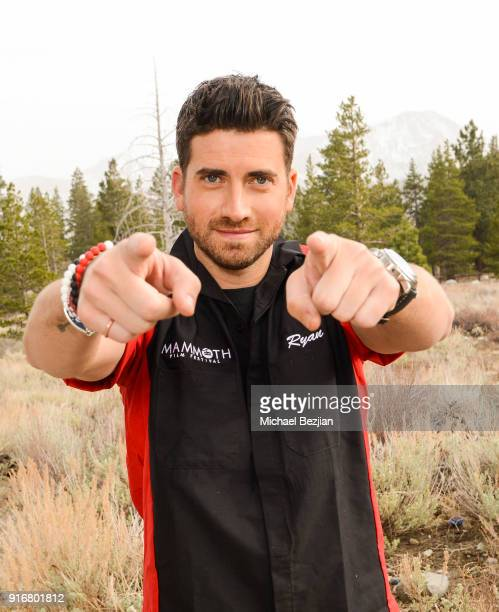 Ryan Rottman poses for portrait giveback for The Artists Project for The Artists Project at The Inaugural Mammoth Film Festival on February 10 2018...