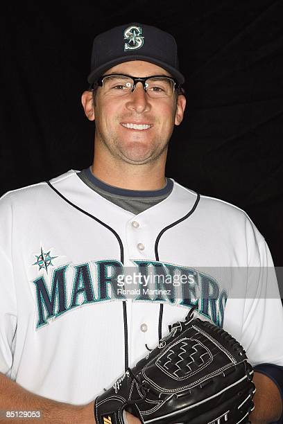 Ryan RowlandSmith of the Seattle Mariners poses during photo day at the Mariners spring training complex on February 20 2009 in Peoria Arizona