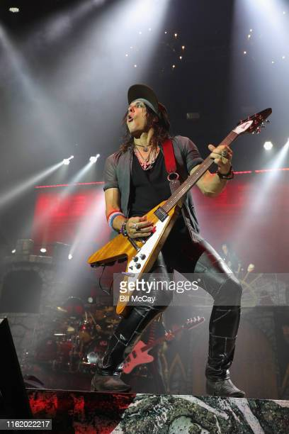 Ryan Roxie of the band Alice Cooper performs at the BBT Pavilion August 16 2019 in Camden New Jersey