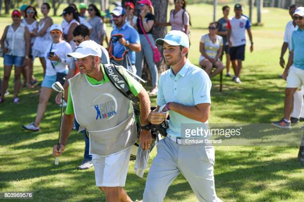 Ryan Ruffels of Australia during the final round of the PGA TOUR Latinoamerica Puerto Plata DR Open at Playa Dorada Golf Course on June 11 2017 in...