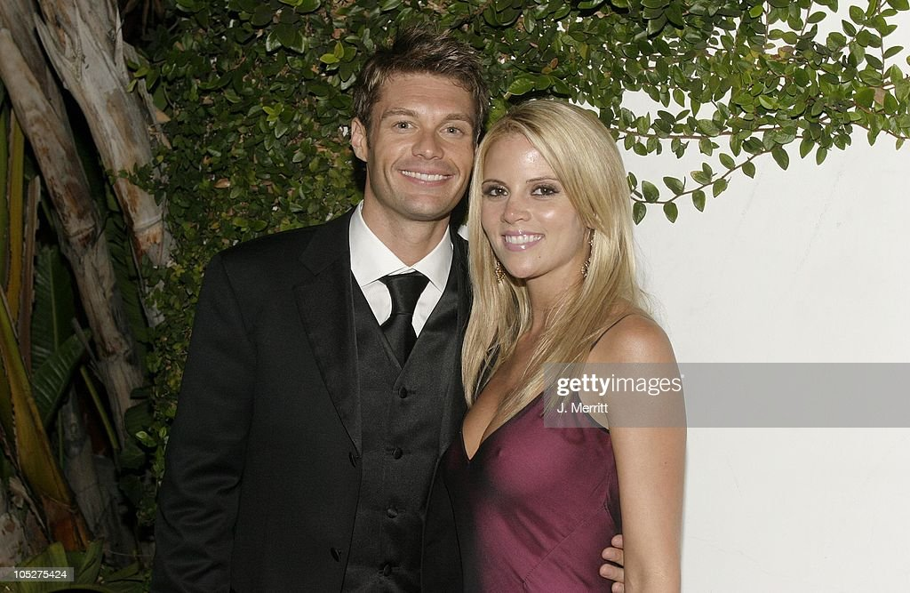 Ryan Seacrest and guest during 20th Century Fox Emmy After Party At Morton's at Morton's Restaurant in Los Angeles, California, United States.