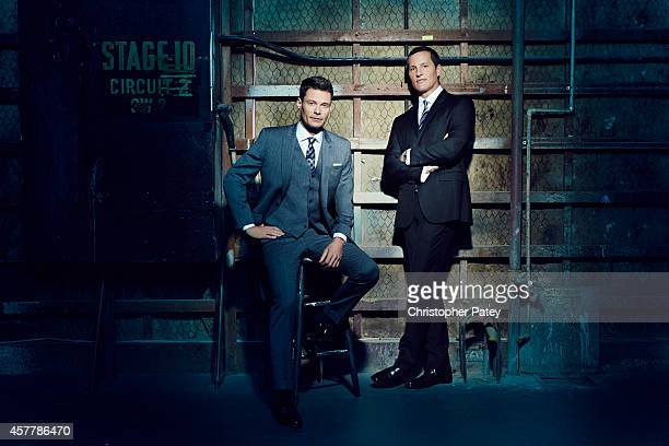 Ryan Seacrest and Joe Earley are photographed for The Hollywood Reporter on September 22 2014 in Los Angeles California PUBLISHED IMAGE