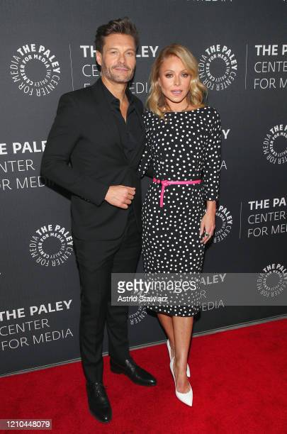 """Ryan Seacrest and Kelly Ripa attend The Paley Center For Media Presents: An Evening with """"Live with Kelly and Ryan"""" at Paley Center For Media on..."""