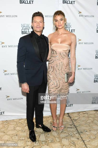 Ryan Seacrest and Shayna Taylor attend the 8th Annual New York City Ballet Fall Fashion Gala at David H. Koch Theater, Lincoln Center on September...