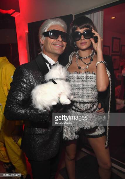 Ryan Seacrest and Shayna Taylor attend the Casamigos Halloween Party on October 26 2018 in Beverly Hills California