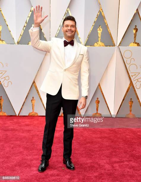 Ryan Seacrest arrives at the 89th Annual Academy Awards at Hollywood Highland Center on February 26 2017 in Hollywood California