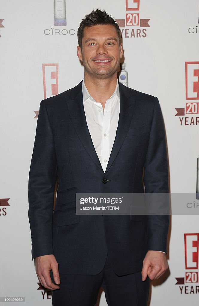 Ryan Seacrest arrives at the E! 20th anniversary party celebrating two decades of pop culture held at The London Hotel on May 24, 2010 in West Hollywood, California.