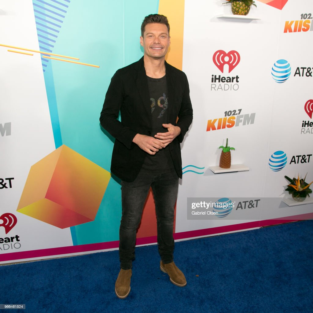 Ryan Seacrest arrives for iHeartRadio's KIIS FM Wango Tango By AT&T at Banc of California Stadium on June 2, 2018 in Los Angeles, California.