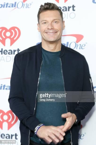 Ryan Seacrest arrives for the 2017 iHeartRadio Music Festival at TMobile Arena on September 22 2017 in Las Vegas Nevada