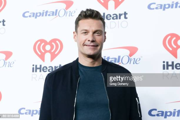 Ryan Seacrest arrives for the 2017 iHeartRadio Music Festival at TMobile Arena on September 22 2017 in Las Vegas Nevada