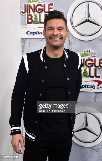 Ryan Seacrest attends 1027 KIIS FM's Jingle Ball 2018 Presented by Capital One at The Forum on November 30 2018 in Inglewood California
