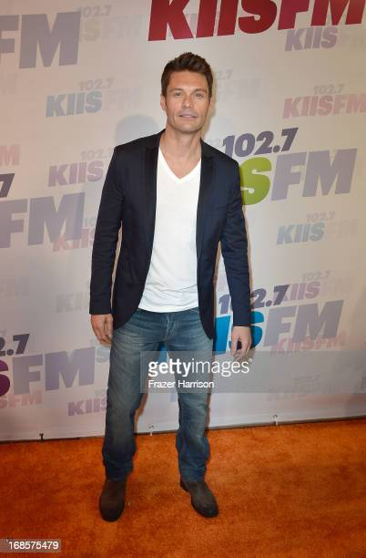 Ryan Seacrest attends 1027 KIIS FM's Wango Tango 2013 held at The Home Depot Center on May 11 2013 in Carson California