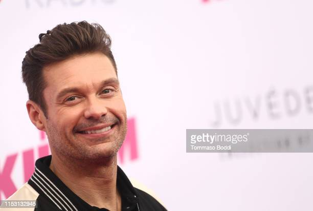 Ryan Seacrest attends 2019 iHeartRadio Wango Tango presented by The JUVÉDERM® Collection of Dermal Fillers at Dignity Health Sports Park on June 01...