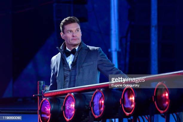 Ryan Seacrest attends Dick Clark's New Year's Rockin' Eve With Ryan Seacrest 2020 on December 31, 2019 in New York City.