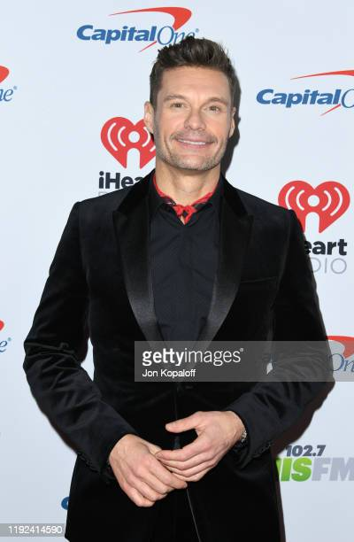 Ryan Seacrest attends KIIS FM's Jingle Ball 2019 presented by Capital One at The Forum on December 06, 2019 in Inglewood, California.