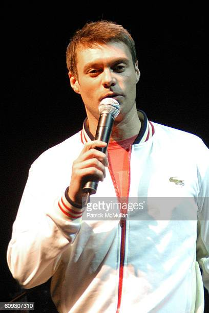 Ryan Seacrest attends Ryan Seacrest hosts an Intimate Performance by MAROON 5 at House of Blues on July 9 2007 in West Hollywood CA