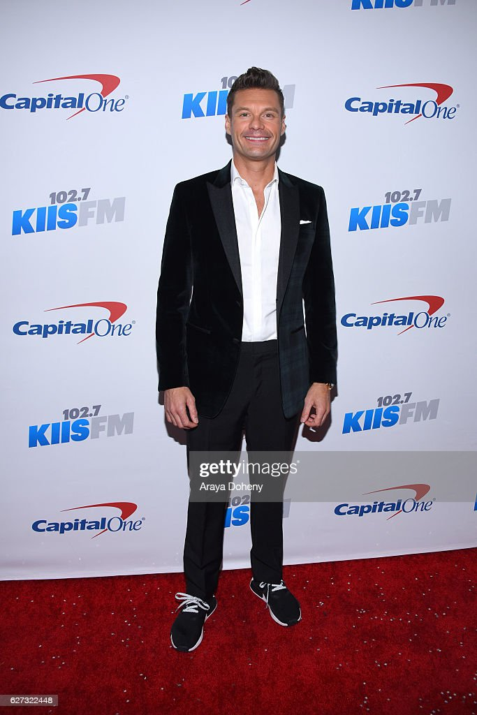 Ryan Seacrest attends the 102.7 KIIS FM's Jingle Ball 2016 at Staples Center on December 2, 2016 in Los Angeles, California.