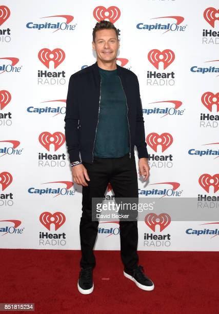 Ryan Seacrest attends the 2017 iHeartRadio Music Festival at TMobile Arena on September 22 2017 in Las Vegas Nevada