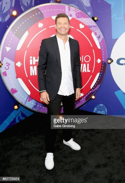 Ryan Seacrest attends the 2017 iHeartRadio Music Festival at TMobile Arena on September 23 2017 in Las Vegas Nevada
