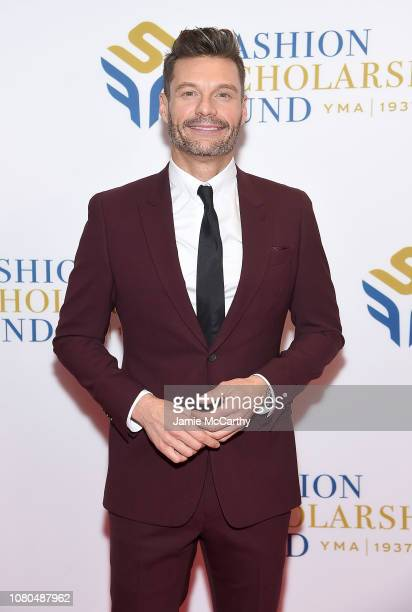 Ryan Seacrest attends the 2019 Fashion Scholarship Fund at the Hilton New York on January 10 2019 in New York City