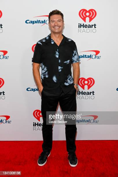 Ryan Seacrest attends the 2021 iHeartRadio Music Festival on September 17, 2021 at T-Mobile Arena in Las Vegas, Nevada. EDITORIAL USE ONLY