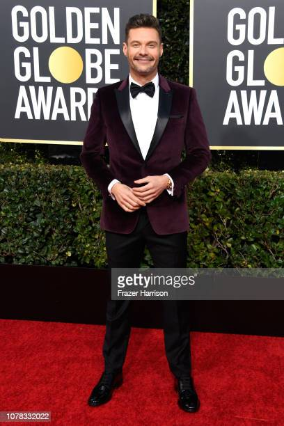 Ryan Seacrest attends the 76th Annual Golden Globe Awards at The Beverly Hilton Hotel on January 6 2019 in Beverly Hills California