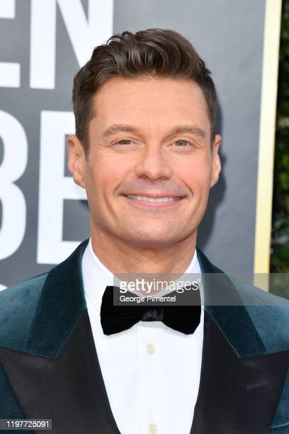 Ryan Seacrest attends the 77th Annual Golden Globe Awards at The Beverly Hilton Hotel on January 05, 2020 in Beverly Hills, California.