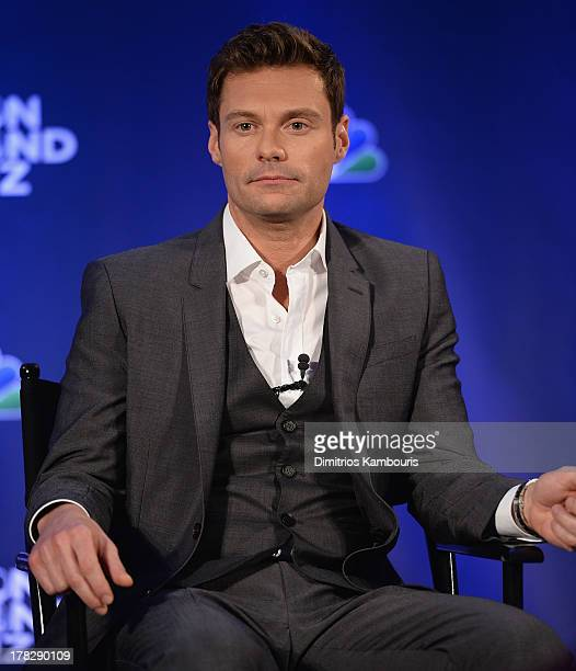 Ryan Seacrest attends 'The Million Second Quiz' Cocktail Reception on August 28 2013 in New York United States