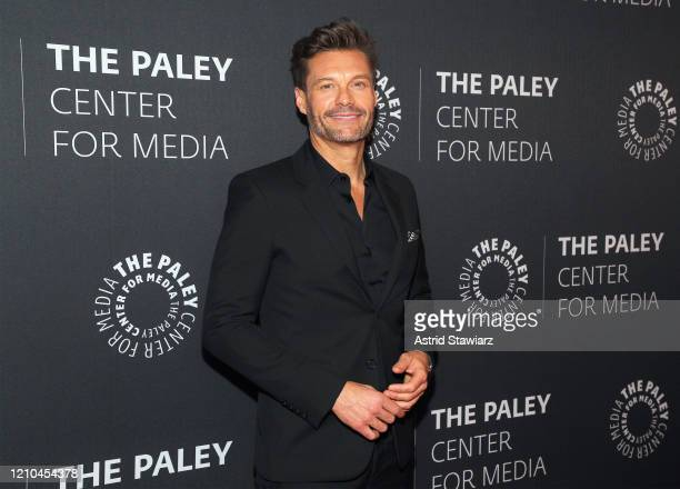 """Ryan Seacrest attends The Paley Center For Media Presents: An Evening with """"Live with Kelly and Ryan"""" at Paley Center For Media on March 04, 2020 in..."""