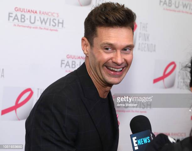 Ryan Seacrest attends The Pink Agenda's Annual Gala at Tribeca Rooftop on October 11 2018 in New York City