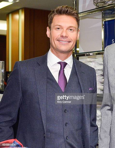 Ryan Seacrest attends the Ryan Seacrest Distinction Launch at Macy's Herald Square on September 8, 2014 in New York City.