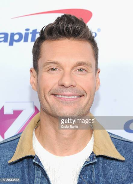 Ryan Seacrest attends Z100's Jingle Ball 2016 at Madison Square Garden on December 9 2016 in New York City
