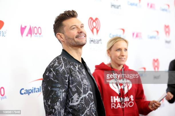 Ryan Seacrest attends Z100's Jingle Ball 2018 at Madison Square Garden on December 7 2018 in New York City