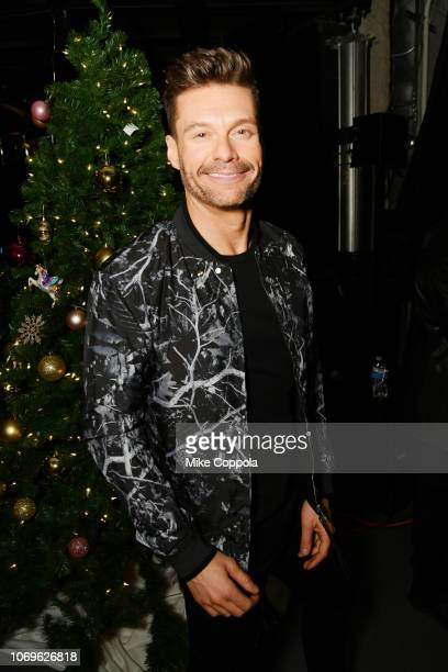 Ryan Seacrest attends Z100's Jingle Ball 2018 at Madison Square Garden on December 7 2018 in New York City