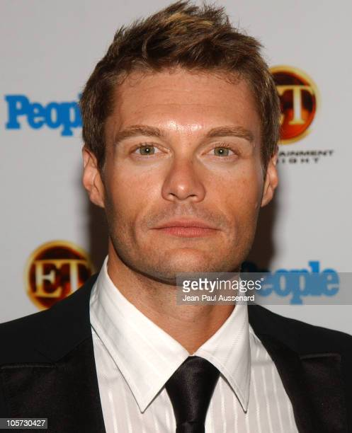 Ryan Seacrest during Entertainment Tonight and People Magazine Celebrate The 57th Annual Emmy Awards at Mondrian in West Hollywood California United...