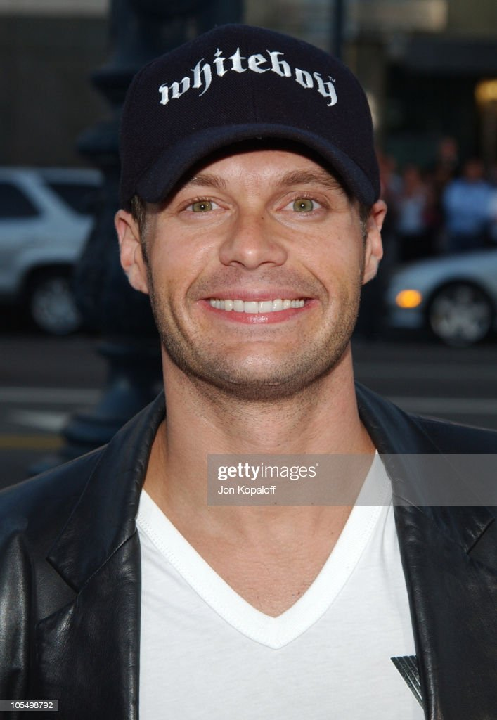 Ryan Seacrest during 'The Terminal' World Premiere - Red Carpet at Academy of Motion Picture Arts and Science in Beverly Hills, California, United States.
