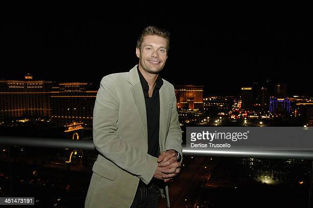 Ryan Seacrest Exclusive Coverage during Pamela Anderson Hosts Party at Panorama Towers Where She Recently Purchashed a Penthouse at Panorama Towers...