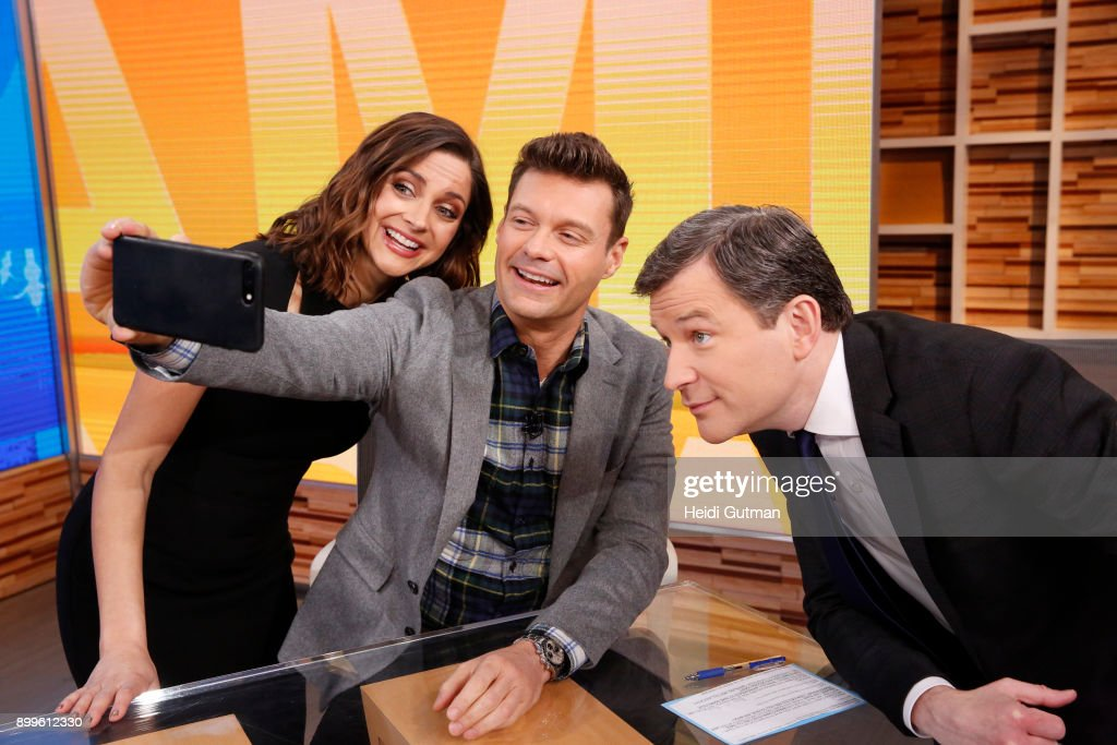 AMERICA - Ryan Seacrest is a guest on 'Good Morning America,' Friday December 29, 2017, in anticipation of 'Dick Clark's New Year's Rockin' Eve with Ryan Seacrest,' airing on the ABC Television Network. PAULA