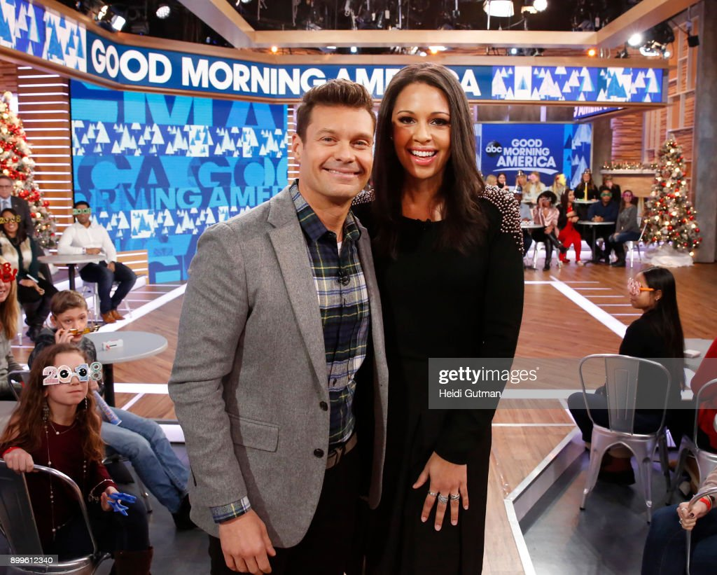 AMERICA - Ryan Seacrest is a guest on 'Good Morning America,' Friday December 29, 2017, in anticipation of 'Dick Clark's New Year's Rockin' Eve with Ryan Seacrest,' airing on the ABC Television Network. RYAN