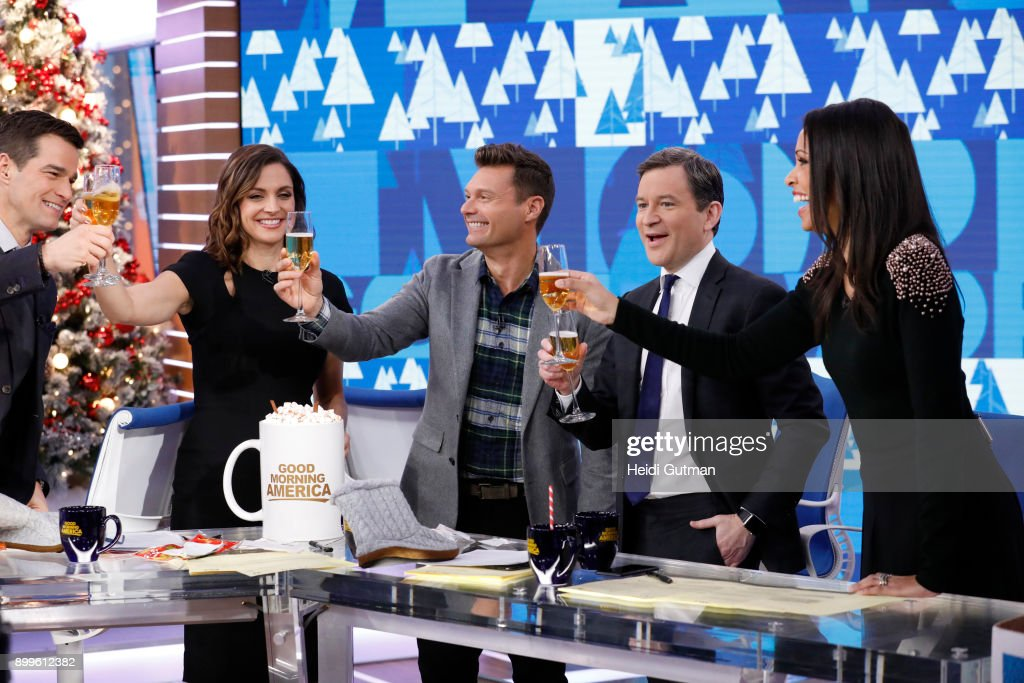 AMERICA - Ryan Seacrest is a guest on 'Good Morning America,' Friday December 29, 2017, in anticipation of 'Dick Clark's New Year's Rockin' Eve with Ryan Seacrest,' airing on the ABC Television Network. ROB