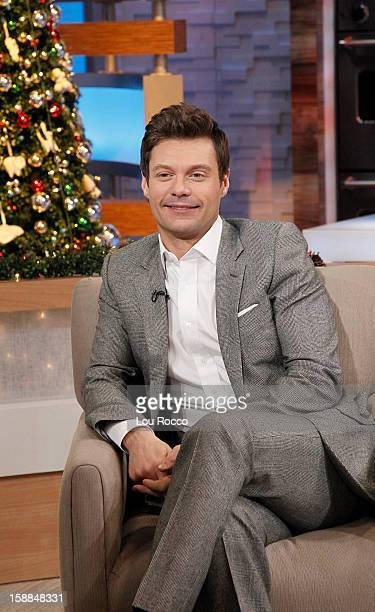 AMERICA Ryan Seacrest talks about 'New Year's Rockin' Eve' on 'Good Morning America' 12/28/12 airing on the ABC Television Network RYAN