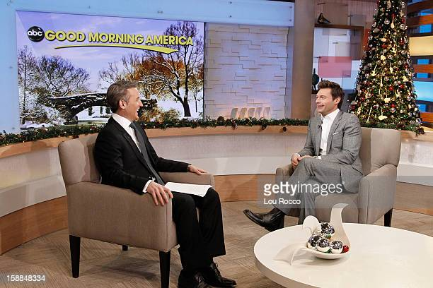 AMERICA Ryan Seacrest talks about 'New Year's Rockin' Eve' on 'Good Morning America' 12/31/12 airing on the ABC Television Network DAN