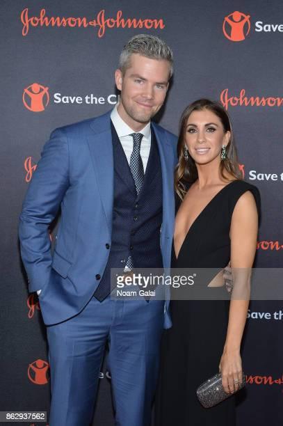 Ryan Serhant and Emilia Bechrakis of Bravo's Million Dollar Listing attend the 5th Annual Save the Children Illumination Gala at the American Museum...