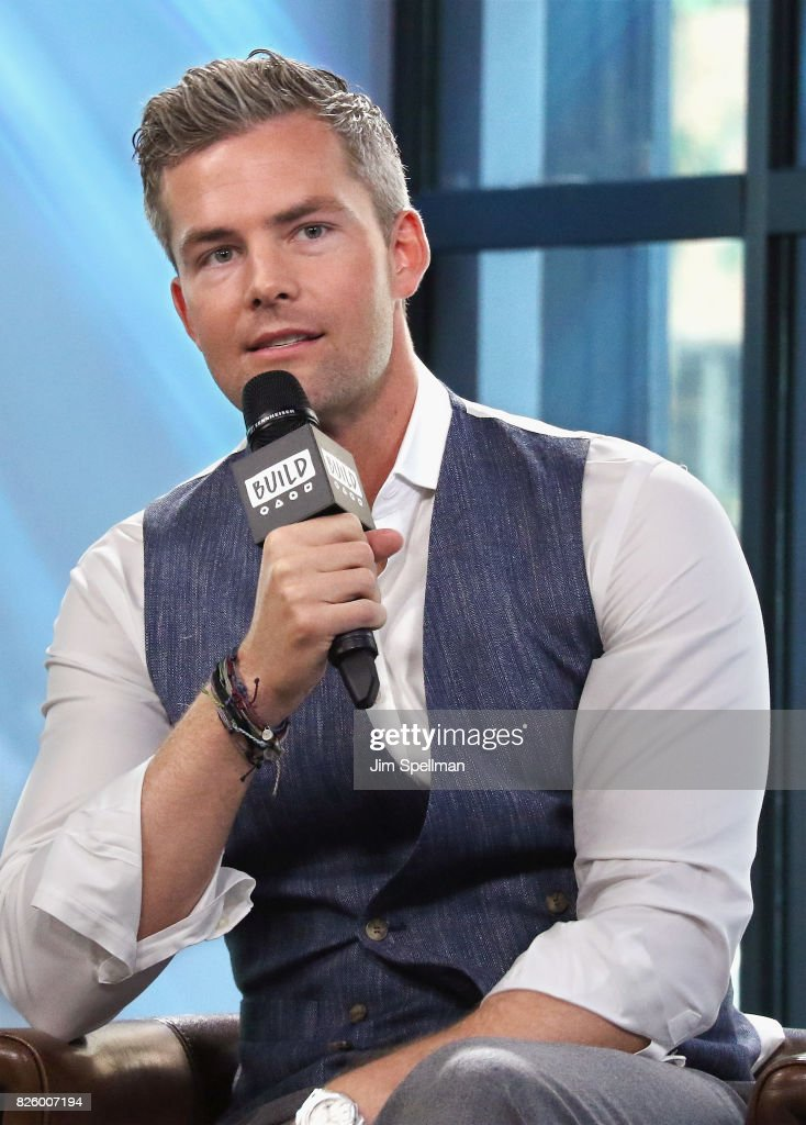 Ryan Serhant attends Build to discuss his show 'Million Dollar Listing New York' at Build Studio on August 3, 2017 in New York City.
