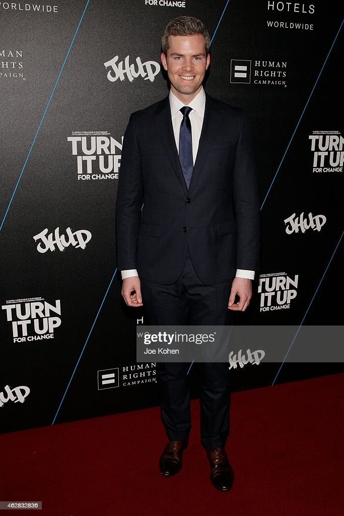 Ryan Serhant attends Turn It Up For Change ball to benefit HRC at W Hollywood on February 5, 2015 in Hollywood, California.