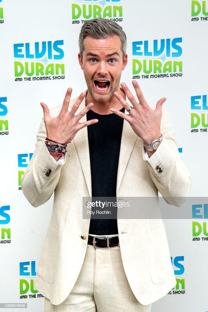 "Ryan Serhant Visits ""The Elvis Duran Z100 Morning Show"""