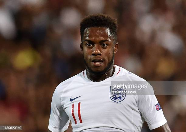 Ryan Sessegnon of England in action during the 2019 UEFA U-21 Championship Group C match between England and France at Dino Manuzzi Stadium on June...