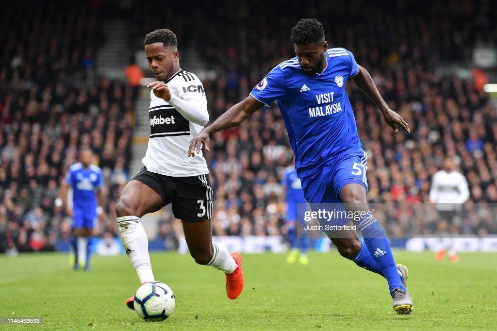 Fulham FC v Cardiff City - Premier League : News Photo