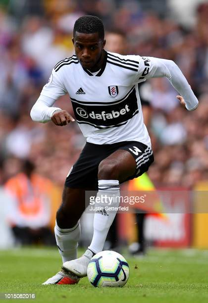 Ryan Sessegnon of Fulham during the Premier League match between Fulham FC and Crystal Palace at Craven Cottage on August 11 2018 in London United...